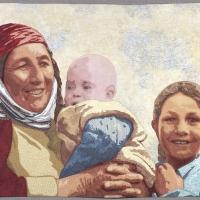 Turkeman-Mother-and-Children
