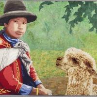 Peruvian-Girl-with-Llama