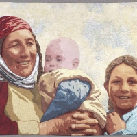 Turkeman-Mother-and-Children