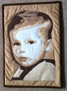 Debbie Fishell worked from a baby picture of her husband.
