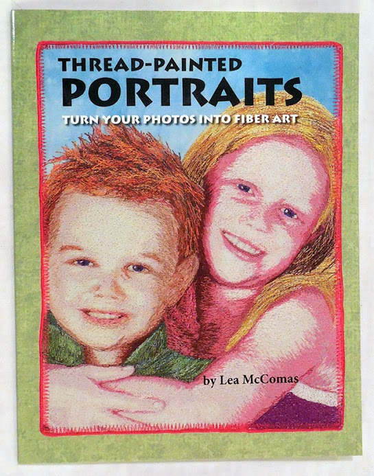 Thread-Painted Portraits book