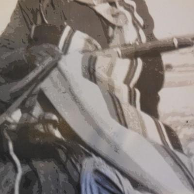 A portion of the original photo