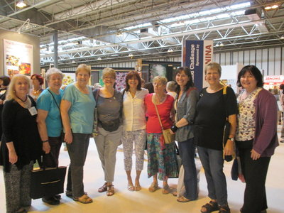 Fans of The Quilt Show meet and celebrate