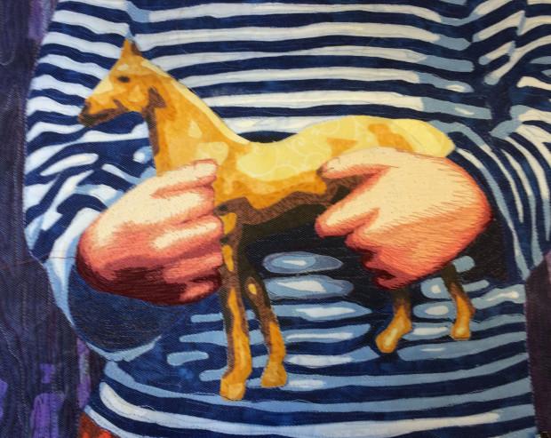 Horse in Hands