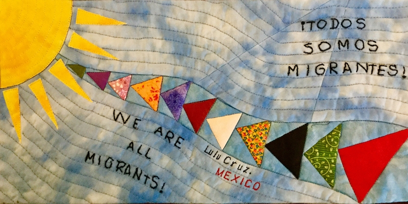 We are all migrants.All of us, were change our lives and our residence, looking for a better place to live.