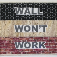 Wall won't work = Just my opinion.