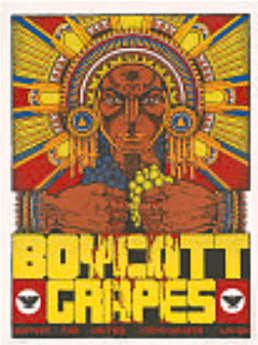 UFW poster to promote boycott of grapes