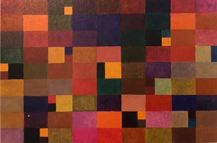 Itten color theory: Autumn color palette